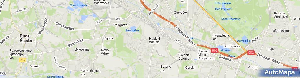 Zdjęcie satelitarne Sklep Ogólnospożywczy Spodzieja Rozalia