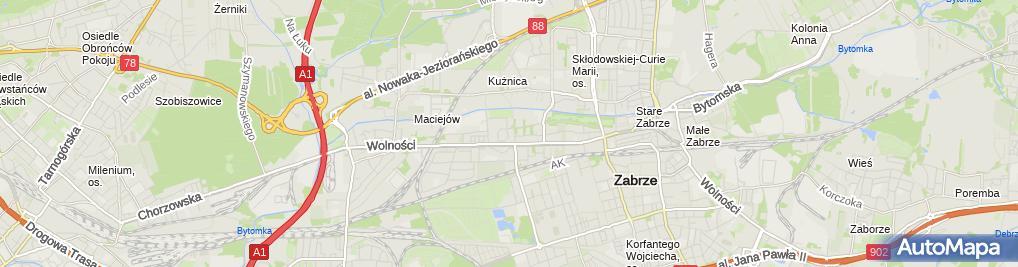 Zdjęcie satelitarne Sklep Spożywczo Przemysłowy Rositsa Ezhevska