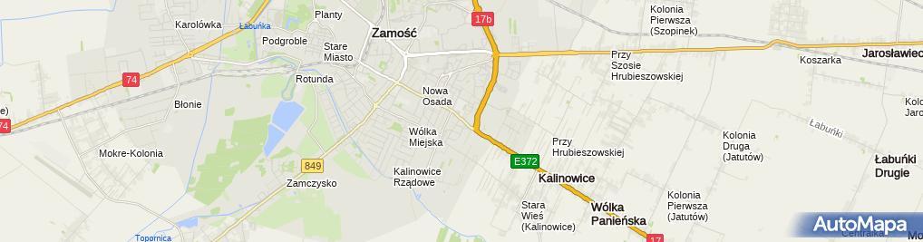 Zdjęcie satelitarne Gabinet Weterynaryjny Aleksander Kolanowski