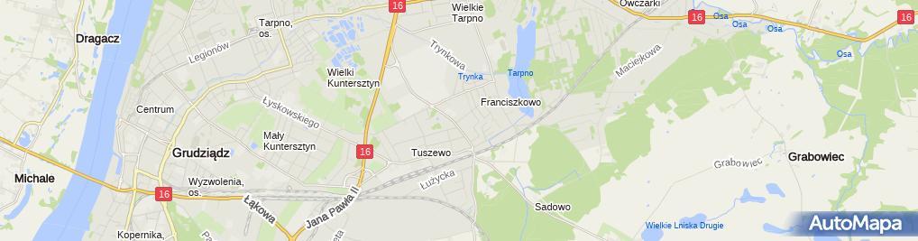 Zdjęcie satelitarne Gabinet Weterynaryjny Amicus