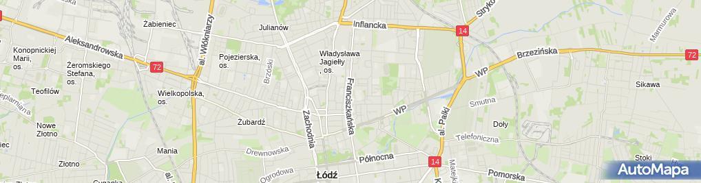Zdjęcie satelitarne Przychodnia Weterynaryjna Animal Adam Gierulski Konrad Kalisz