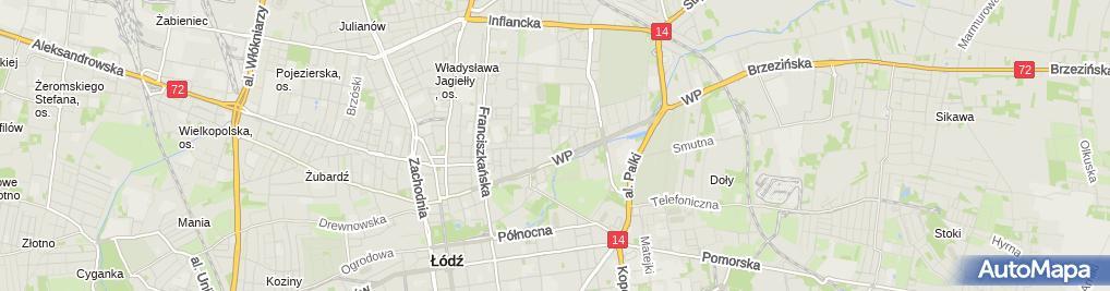 Zdjęcie satelitarne Przychodnia Weterynaryjna Vet-Center Joanna Trzopek