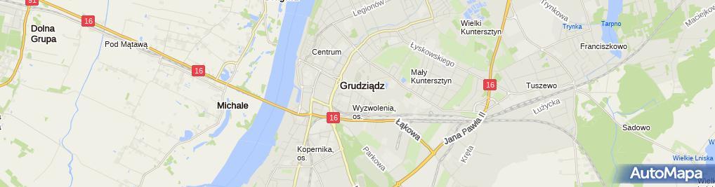 Zdjęcie satelitarne Ter - Wet Zakład Weterynaryjny Obsługa Rolnictwa Jurek Prus