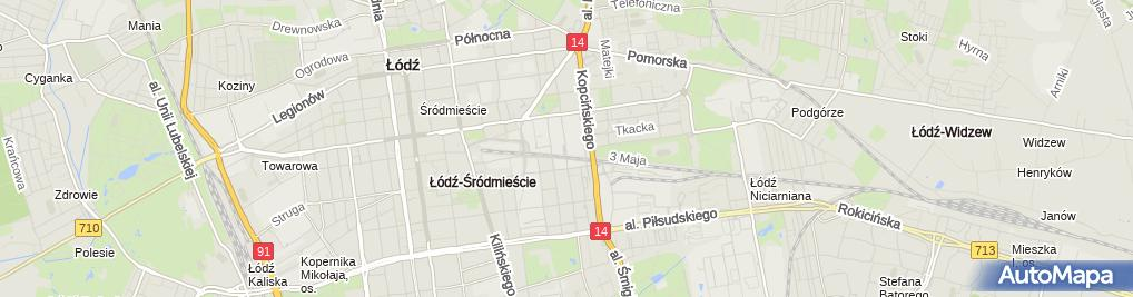 Zdjęcie satelitarne ZWiK Sp.z o.o.