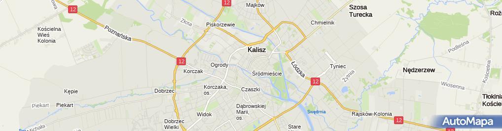 Zdjęcie satelitarne BZWBK - Wpłatomat
