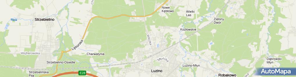 Zdjęcie satelitarne Auto Naprawa - Rafał Bladowski