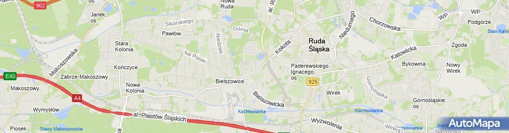 Zdjęcie satelitarne GUMI - MADER Partner Michelin Polska