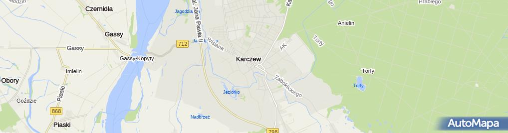 Zdjęcie satelitarne Kiszeczka