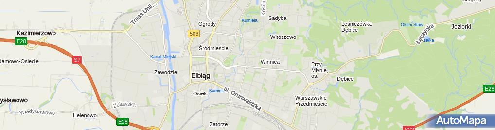 żabka Sklep Tadeusza Kościuszki 1 Elbląg 82 300 Godziny Otwarcia