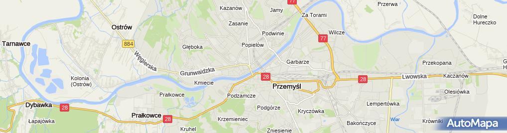 Zdjęcie satelitarne Klasztor Benedyktynek