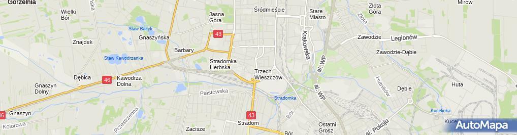 Zdjęcie satelitarne Marcin Orzołek - Fotograf Ślubny Częstochowa