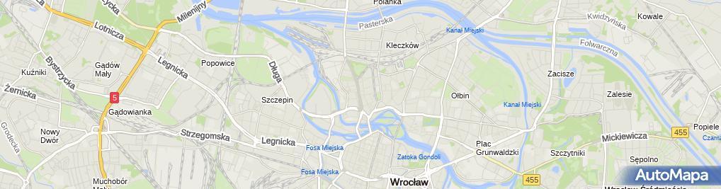 Zdjęcie satelitarne Ela Krawiectwo Damskie