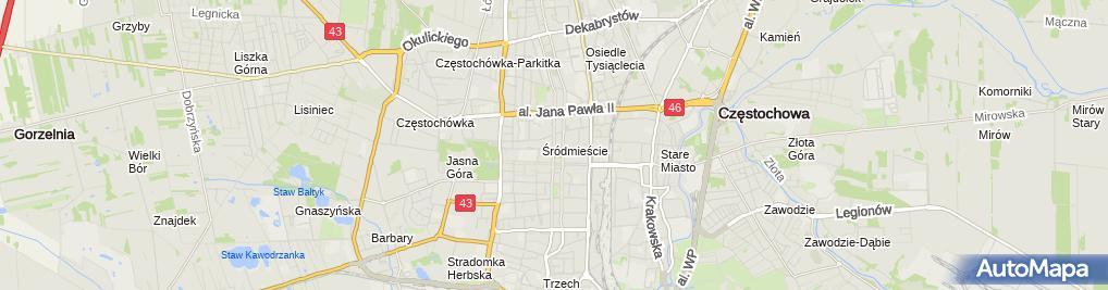 Zdjęcie satelitarne Krawiectwo Konfekcyjne Wit Pol
