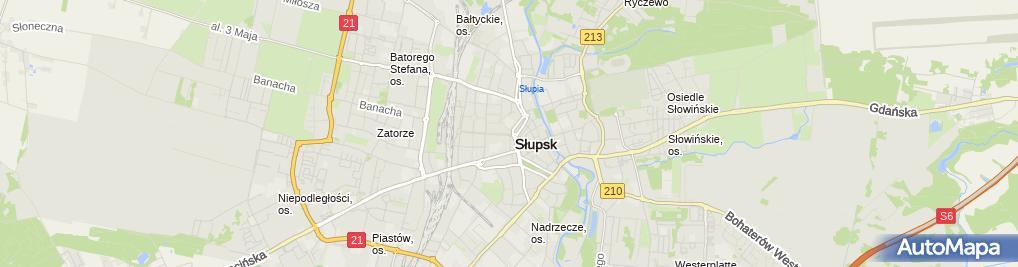 Zdjęcie satelitarne Usługi Krawiecko-Kuśnierskie ~Sabor~ Sabina Marszewska
