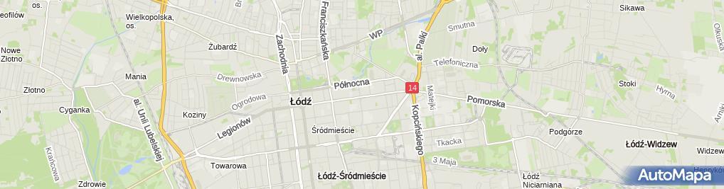 Zdjęcie satelitarne Kompleksowe Usługi Pogrzebowe Spoczynek Jan Olczak Violetta Olczak