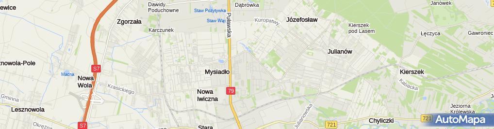 Zdjęcie satelitarne Stolarstwo Artystyczne Zygmunt Dzierla i Syn