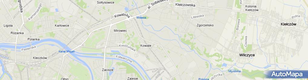 Zdjęcie satelitarne Zakład Usług Stolarskich Topola Janusz Sobecki