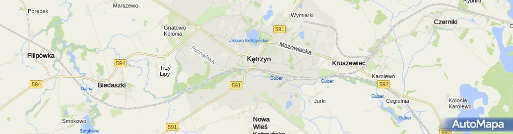 Zdjęcie satelitarne 2008-02 Kętrzyn 03