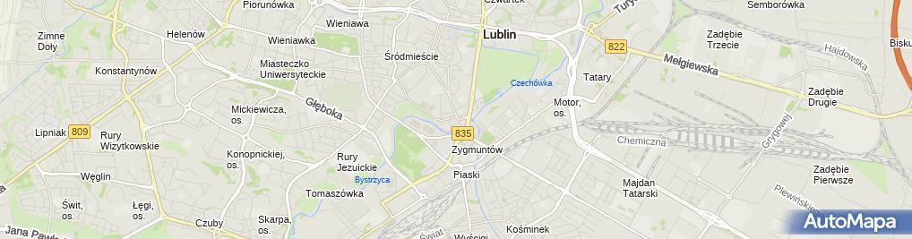 Zdjęcie satelitarne 5 Lublin 36