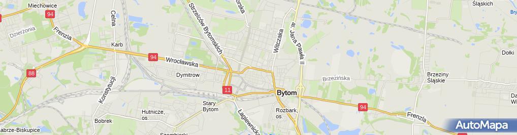 Zdjęcie satelitarne Bytom - Library 01