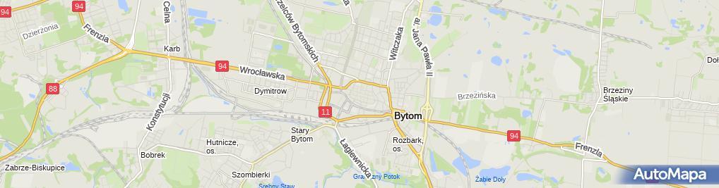 Zdjęcie satelitarne Dni Bytomia 2009 - OT.TO 01