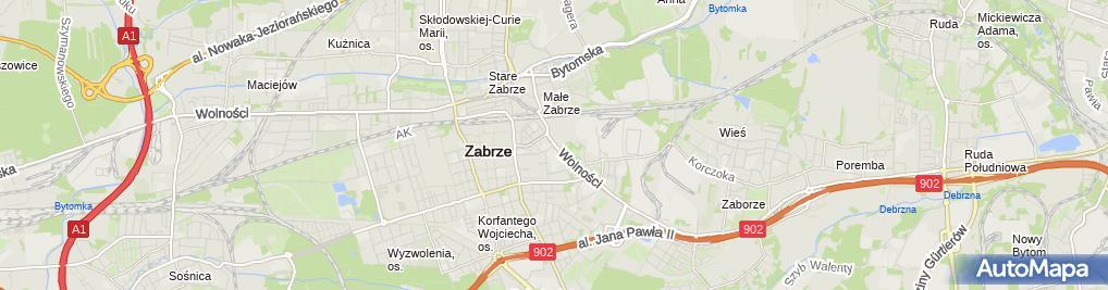 Zdjęcie satelitarne Filharmonia Zabrzańska (Nemo5576)