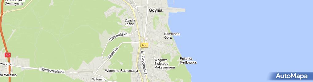 Zdjęcie satelitarne Gdynia urząd miasta UM1
