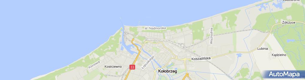 Zdjęcie satelitarne Kołobrzeg - SA103-010 C