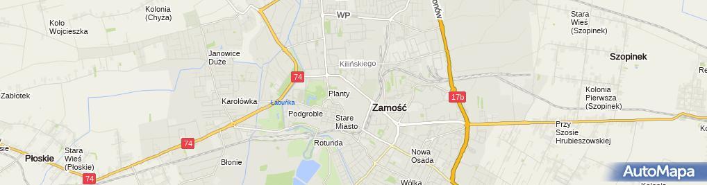 Zdjęcie satelitarne Plywalnia3