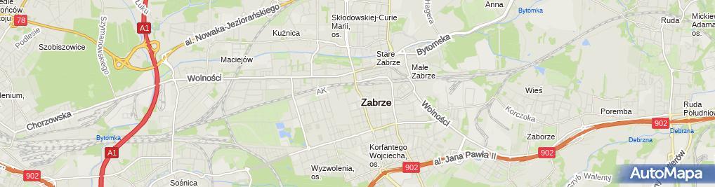 Zdjęcie satelitarne Pomnik Kombatanta Polskiego 1 (Nemo5576)