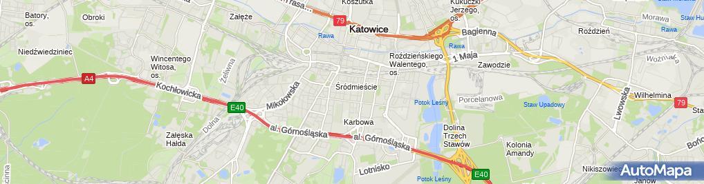 Zdjęcie satelitarne Sejm Śląski - Sala Marmurowa