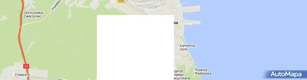 Zdjęcie satelitarne Slaska Street, Gdynia