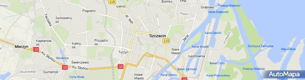 Zdjęcie satelitarne SZN 08 ZPol Plac