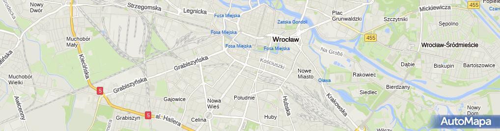 Zdjęcie satelitarne Teatr Muzyczny Capitol - Wrocław