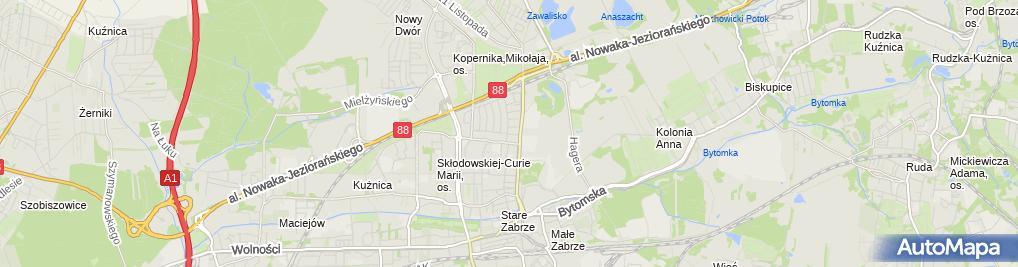 Zdjęcie satelitarne Zabrze Poranna 24 03 2010 P3248518