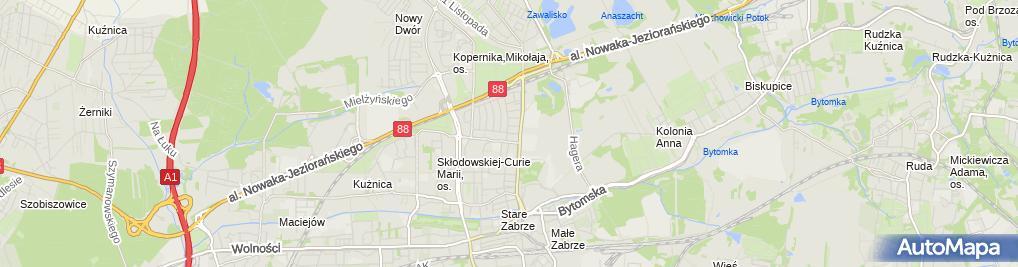 Zdjęcie satelitarne Zabrze Poznańska 9 24 03 2010 P3248516