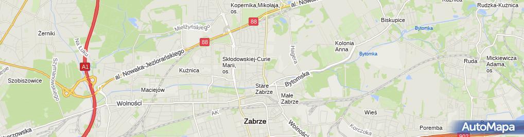 Zdjęcie satelitarne Zabrze Staszica 6 24 03 2010 P3248498