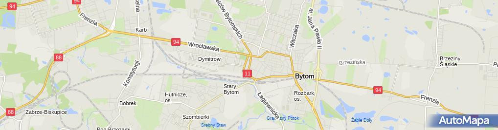 Zdjęcie satelitarne 'Mega' Centrum Rozwoju Szkoły Języka I Kultury Polskiej