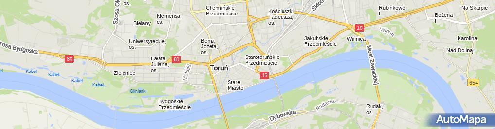 Zdjęcie satelitarne Centrum Terapii I Edukacji 'Mały Książę'