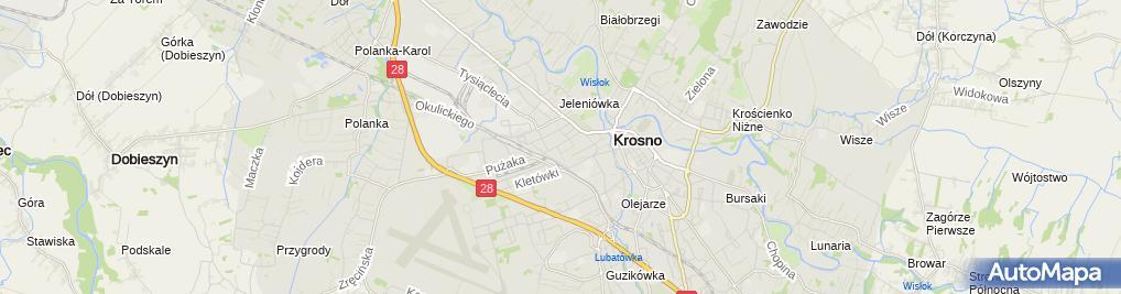 Zdjęcie satelitarne Ośrodek Szkolenia Psychotroników 'Euro-Natura'