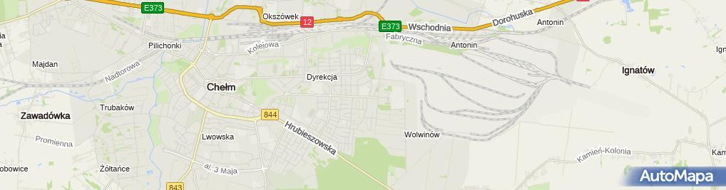 Zdjęcie satelitarne Zespół Szkół Energetycznych I Transportowych Im. Ks. Stanisława Staszica