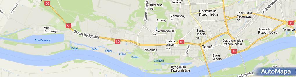 Zdjęcie satelitarne Zespół Szkół Nr 26 Im. Ks. prof. Józefa Tischnera