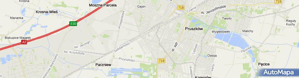 Zdjęcie satelitarne Zespół Szkół Ogólnokształcących I Sportowych