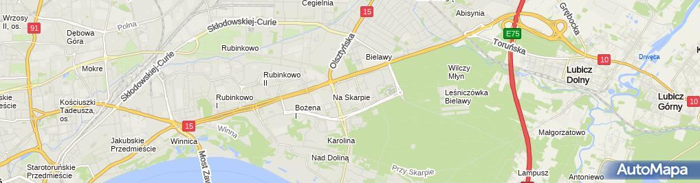 Zdjęcie satelitarne Zespół Szkół Ogólnokształcących Nr 2 Im.królowej Jadwigi