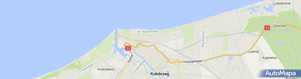 Zdjęcie satelitarne Zespół Szkół Specjalnych Przy Szpitalu Uzdrowiskowym 'Słoneczko'