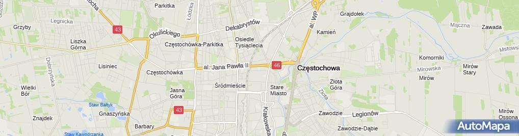 Zdjęcie satelitarne Zespół Szkół Zawodowych Specjalnych Im. Marii Grzegorzewskiej
