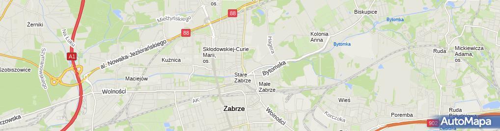 Zdjęcie satelitarne Ziaja dla Ciebie - Drogeria