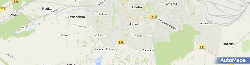 """Zdjęcie satelitarne Kościół Zielonoświątkowy Zbór """"Dom Na Skale"""""""
