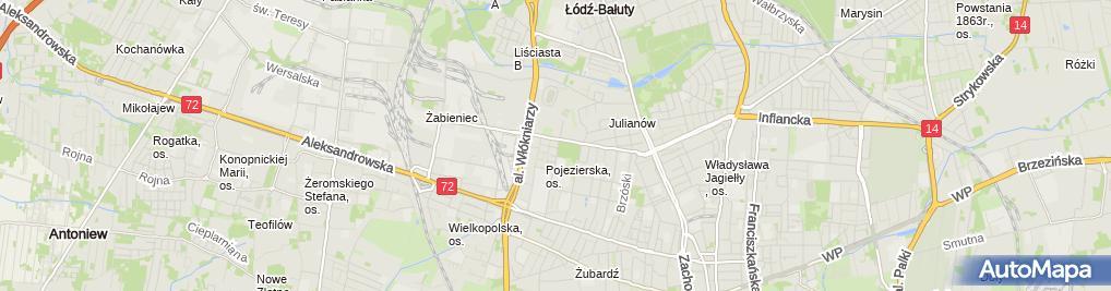 Zdjęcie satelitarne Kropek - internetowy sklep zoologiczny