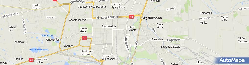 Zdjęcie satelitarne Zoologiczny - Sklep